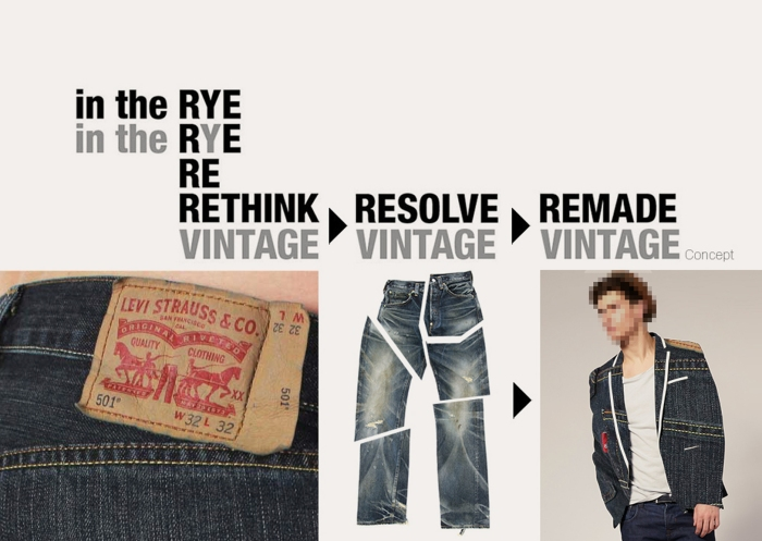 in the Rye x Drezier Communications Rethink Vintage concept
