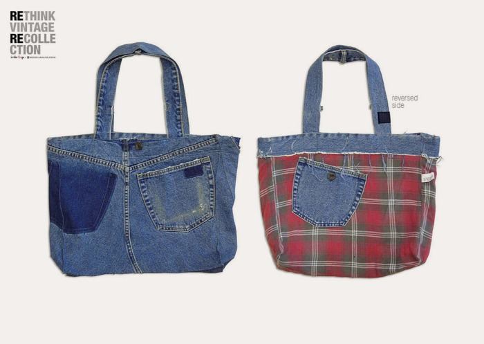 in the Rye x Drezier Communications Rethink Vintage tote bag #01