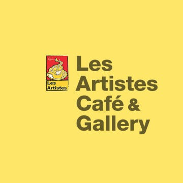 Holistic Branding & Publishing : : Les Artistes Café & Art Gallery