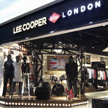 Lee Cooper Retail Store in China :: 2009/11 Fujian Shishi shop-in-shop