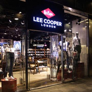 Lee Cooper Retail Store in China :: 2010/08 Beijing Sanlitun flagship store