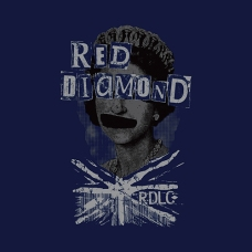 print design queen's portrait punk style union jack rough rendering menswear | British Fashion Denim Retail Brand – Lee Cooper in China :: RDLC collection fashion graphics