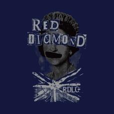 print design queen's portrait punk style union jack rough rendering menswear | British Fashion Denim Retail Brand – Lee Cooper in China :: RDLC collection fashion graphics