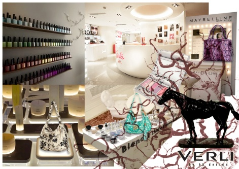 design interior shop concept moodboard inspiration ideas oriental zen cosmetic | Women's Leather Goods Retail Brand :: holistic branding