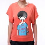 Fashion Online Brand based in Hong Kong and Dongguan :: Summer 2012 Official Oversize Tee in coral
