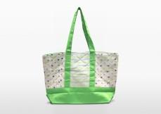 melon green parent or diaper bag | Green Baby Garden :: Upcycling Product Development