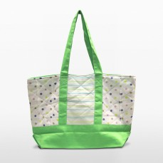 melon green parent or diaper bag | Green Baby Garden :: Upcycling Product Development