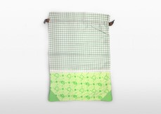 Green Baby Garden :: Second-hand Retail Platform :: Upcycling Product Development :: melon green clothing bag