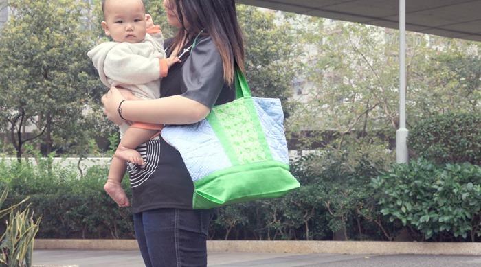Green Baby Garden upcycling merchandises :: retail imaging #1