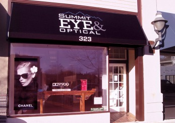 Fashion Branded Eyewear Retail in New Jersey :: branding and identity applications :: Canopy at Shop Front