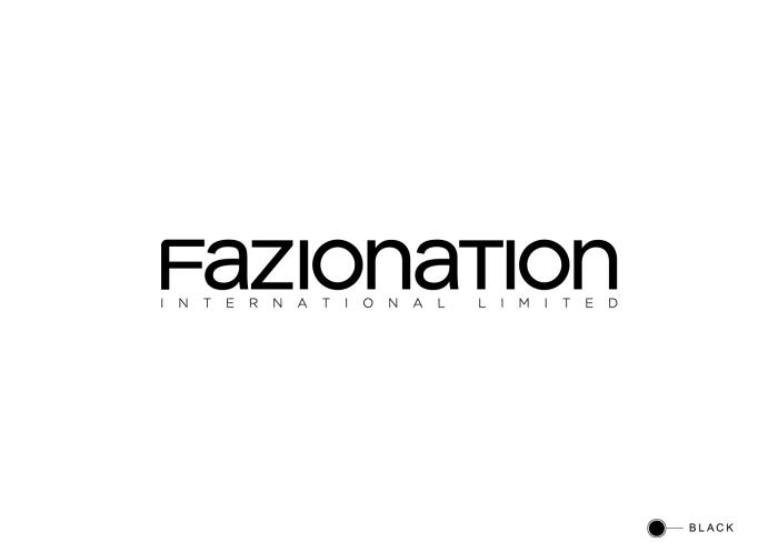 Fazionation corporate logo on white