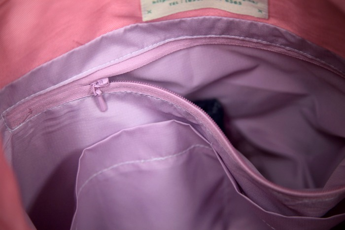 Green Baby Garden upcycling parent bag hidden inner bag