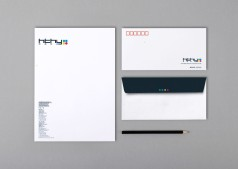 Leading Retail Renovation Brand based in Beijing :: branding and identity applications :: HTHY stationery