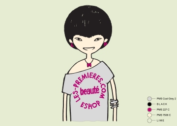 Fashion Online Brand based in Hong Kong and Dongguan :: Summer 2012 China Girl Tee art