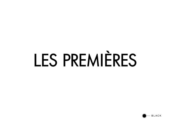 Les Premières French logo on white
