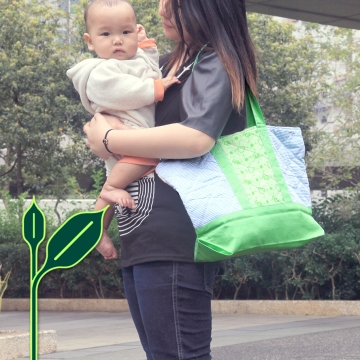 Green Baby Garden :: Retail Imaging of Upcycling Product :: web banner on official website and eShop