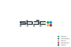 full colored full SBJC logo on white background | HTHY Group :: Leading Retail Renovation Brand based in Beijing :: Branding & Identity Applications