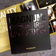 overview of brand book, cover and opened spread view | Magnum London :: British Fashion Retail Brand