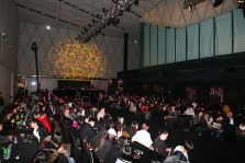 2010 Blue Monday:Red China event, venue all guests seated | British Fashion Denim Retail Brand - Lee Cooper in China :: retailing fashion show and event management