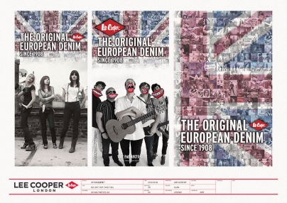 image thematic photography in-store seasonal transit poster, Spring/Summer 2010 | British Fashion Denim Retail Brand - Lee Cooper in China :: retail design & retailing graphics