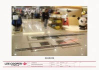 shop opening floor sticker from elevator to our shop front leading the way, concept below-the-line display | British Fashion Denim Retail Brand – Lee Cooper in China :: retail design & retailing graphics
