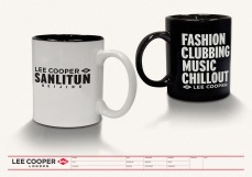 Lee Cooper in China :: retail design & retailing graphics ::shop opening mug premium