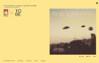 "self-publication issue no.4 ""UFO"" cover 