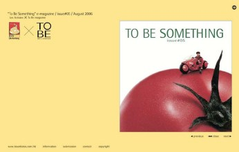 "self-publication issue no.5 ""Tomato"" cover 