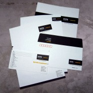 full set of stationery, letterhead, envelope, complimentry slip, old identity | British Fashion Retail Brand – Magnum London :: holistic branding
