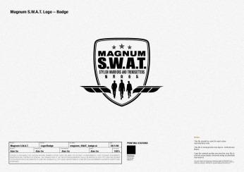 "programme logo identity ""S.W.A.T."" crest | British Fashion Retail Brand - Magnum London :: customer relationship management"