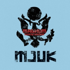 menswear, design sky blue background, ruggedness crest Russian-letters inspired | British Fashion Retail Brand – Magnum London :: fashion graphics