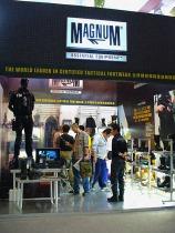 trade show fair booth design tough feel miltary style adhoc event | British Tactical Apparel Wholesale Brand – Magnum Essential Equipment :: branding