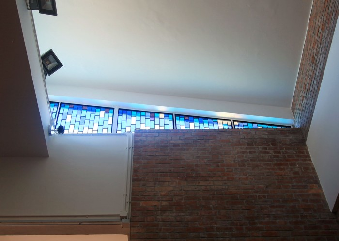 HKU Residential Hall :: chapel revamp stained glass