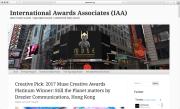 Intenational Awards Associates (IAA) Creative Pick: 2017 Muse Creative Awards Platinum Winner: Still the Planet Matters by Drezier Communications, Hong Kong | Dated June 19, 2017