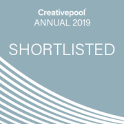 Creativepool Annual 2019 Branding shortlisted